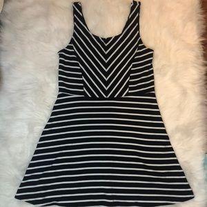 Aeropostale Dresses - Bethany Mota Striped Skater Dress